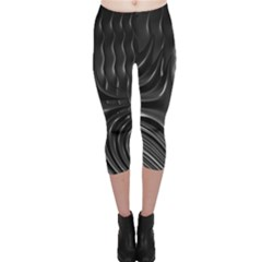 Fractal Mathematics Abstract Capri Leggings
