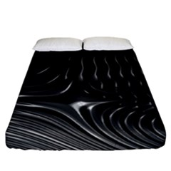 Fractal Mathematics Abstract Fitted Sheet (california King Size)
