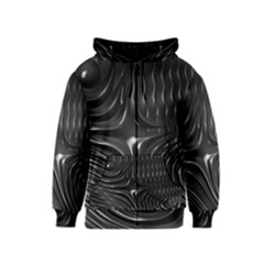 Fractal Mathematics Abstract Kids  Zipper Hoodie