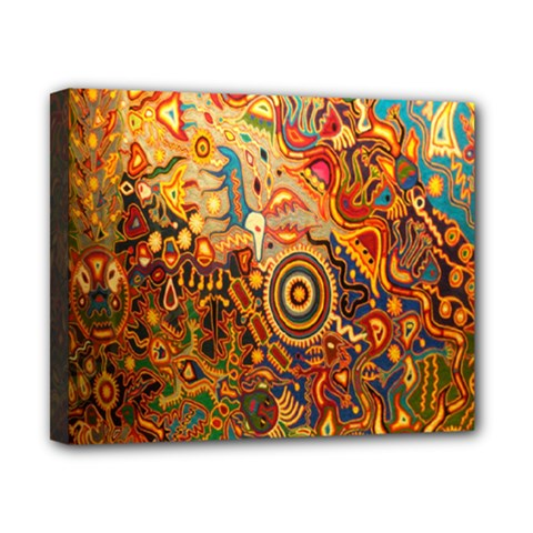 Ethnic Pattern Canvas 10  X 8  by Nexatart