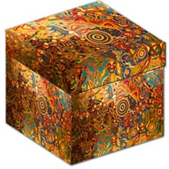 Ethnic Pattern Storage Stool 12