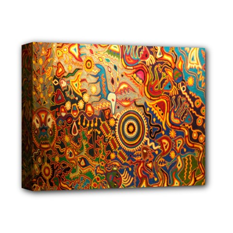 Ethnic Pattern Deluxe Canvas 14  X 11  by Nexatart