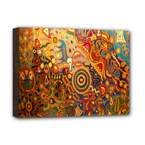 Ethnic Pattern Deluxe Canvas 16  X 12