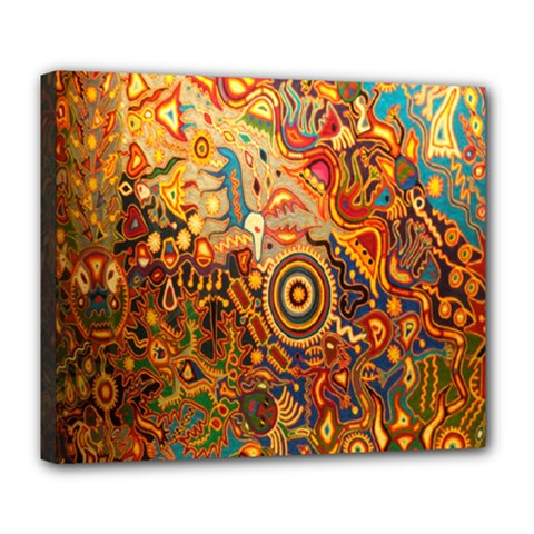 Ethnic Pattern Deluxe Canvas 24  X 20
