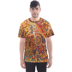 Ethnic Pattern Men s Sport Mesh Tee