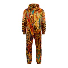 Ethnic Pattern Hooded Jumpsuit (kids)