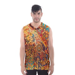 Ethnic Pattern Men s Basketball Tank Top