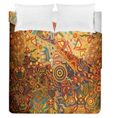 Ethnic Pattern Duvet Cover Double Side (queen Size)