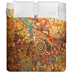 Ethnic Pattern Duvet Cover Double Side (california King Size)