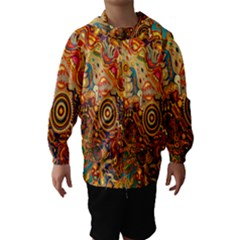 Ethnic Pattern Hooded Wind Breaker (kids)