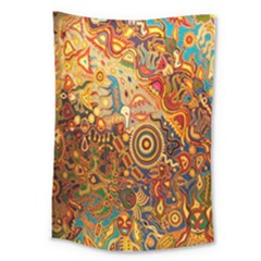Ethnic Pattern Large Tapestry