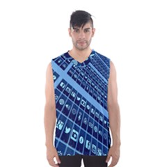 Mobile Phone Smartphone App Men s Basketball Tank Top by Nexatart