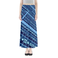 Mobile Phone Smartphone App Maxi Skirts