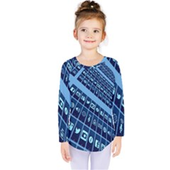 Mobile Phone Smartphone App Kids  Long Sleeve Tee