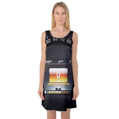 Interior Car Vehicle Auto Sleeveless Satin Nightdress