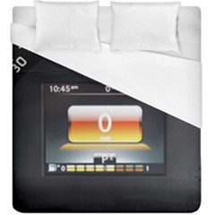 Interior Car Vehicle Auto Duvet Cover (king Size)
