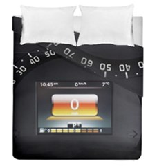 Interior Car Vehicle Auto Duvet Cover Double Side (queen Size)