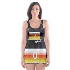 Interior Car Vehicle Auto Skater Dress Swimsuit