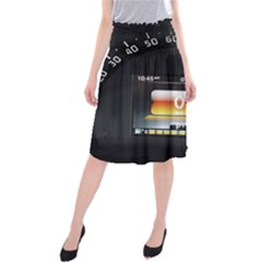 Interior Car Vehicle Auto Midi Beach Skirt