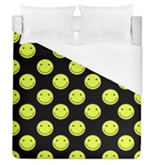 Happy Face Pattern Duvet Cover (queen Size) by Nexatart