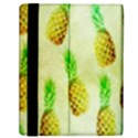 Pineapple Wallpaper Vintage Samsung Galaxy Tab 10.1  P7500 Flip Case View2