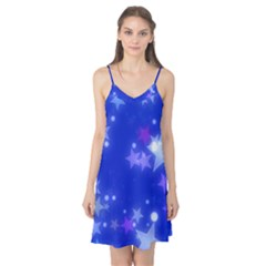 Star Bokeh Background Scrapbook Camis Nightgown by Nexatart