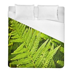 Fern Nature Green Plant Duvet Cover (full/ Double Size) by Nexatart