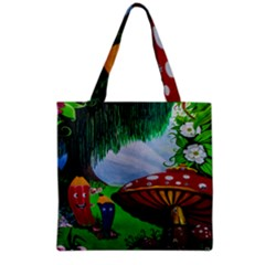 Kindergarten Painting Wall Colorful Grocery Tote Bag