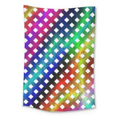 Pattern Template Shiny Large Tapestry by Nexatart