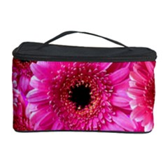 Gerbera Flower Nature Pink Blosso Cosmetic Storage Case by Nexatart