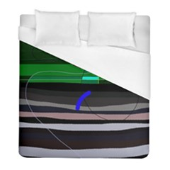 Abstraction Duvet Cover (full/ Double Size) by Valentinaart