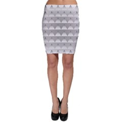 Pattern Retro Background Texture Bodycon Skirt