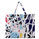Abstraction Zipper Large Tote Bag View1