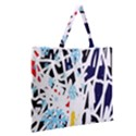 Abstraction Zipper Large Tote Bag View2