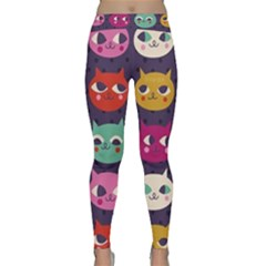 Colorful Kitties Classic Yoga Leggings by Brittlevirginclothing