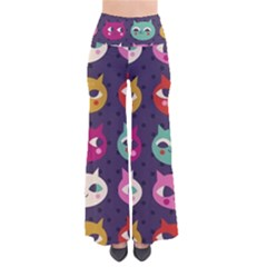 Colorful Kitties Pants by Brittlevirginclothing