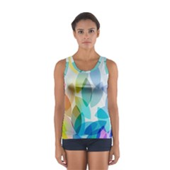 Rainbow Feather Women s Sport Tank Top  by Brittlevirginclothing
