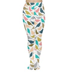 Colorful Birds Women s Tights by Brittlevirginclothing