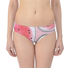 Cute Watermelon Hipster Bikini Bottoms by Brittlevirginclothing