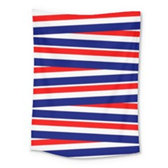 Red White Blue Patriotic Ribbons Medium Tapestry