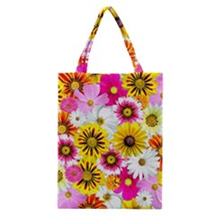 Flowers Blossom Bloom Nature Plant Classic Tote Bag by Nexatart