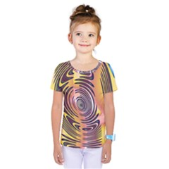 Ethnic Tribal Pattern Kids  One Piece Tee by Nexatart