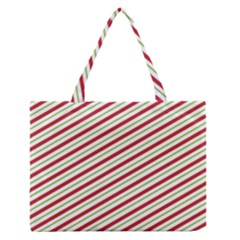 Stripes Medium Zipper Tote Bag by Nexatart
