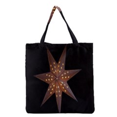 Star Light Decoration Atmosphere Grocery Tote Bag by Nexatart
