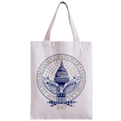President Trump Inaugural Logo Inauguration Pence Seal Usa 2017 Zipper Classic Tote Bag by yoursparklingshop