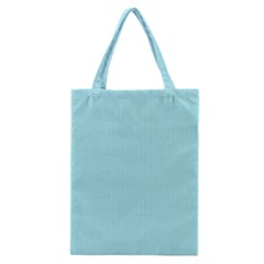 Light Blue Texture Classic Tote Bag by Valentinaart
