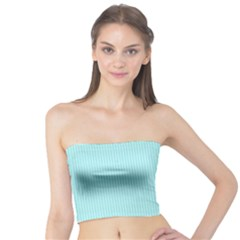 Light Blue Texture Tube Top