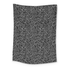 Black Elegant Texture Medium Tapestry