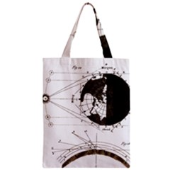 Planetary Equations Zipper Classic Tote Bag by MTNDesignco
