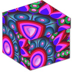 Abstract Digital Art  Storage Stool 12